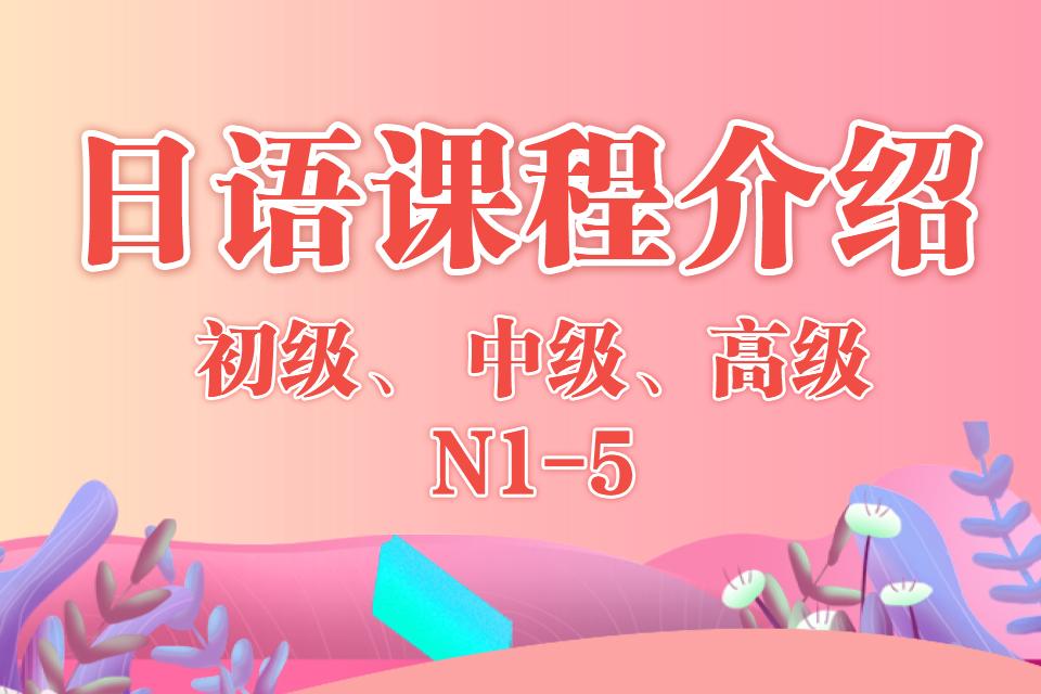 郑州迅昱日语日语初中高级培训-日语培训课程 知识 第1张
